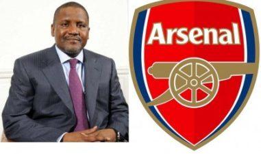 Dangote to bid to buy up Arsenal FC