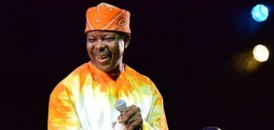 President Buhari Congratulates King Sunny Ade At 70