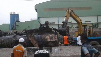 Lagos Task Force destroys over 2 million litres of adulterated diesel