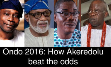 #OndoDecides: Tinubu, in after-event reconciliation, congratulates Akeredolu, gives Ondo victory to Buhari's dignity as APC national leader