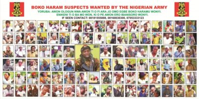 War on Insurgency: 55 fresh photographs of wanted Boko Haram terrorists unveiled