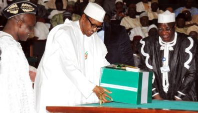 2017 budget may be presented to NASS December 6