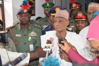 Defence minister vows to wipe out Boko Haram, asks Nigerians to be patient