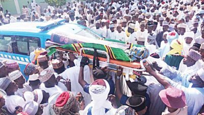 18th Sultan finally laid to rest, as son declines DSS offer to attend burial