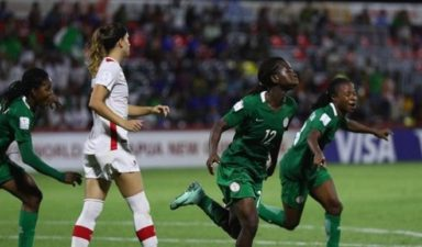 Falconets hammer Canada to raise second round hope