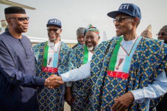 Ondo 2016: Buhari in last minute votes mobilisation for Akeredolu in Saturday polls