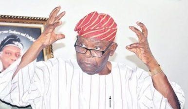 Afenifere leader, Olaniwun Ajayi is dead