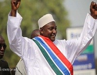 Nigerian President urges smooth transition process in Gambia
