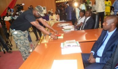 Wearing of military camouflage: APC says Fayose threat to democracy