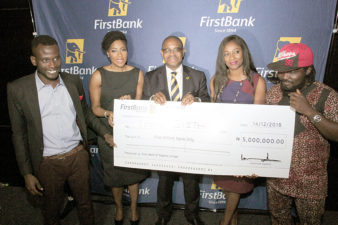First Bank rewards FirstStars Reality TV Show winners