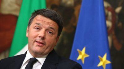 Italy's Renzi to hand in resignation amid political turmoil