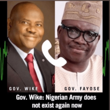 Another Audio recording exposes Fayose, Wike on Rivers rerun