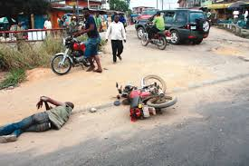Motorcycle thief rams into truck, dies at Madalla