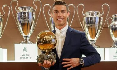 Breaking: Ronaldo wins Ballon D'or