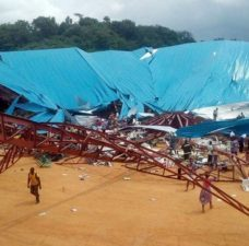 Church collapse: Several feared dead as Governor, others wounded in Uyo