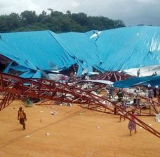 Church collapse: Governor orders arrest of contractor
