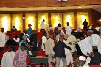 PDP Senators, again, walk out of plenary over defection of Ondo Senator to APC