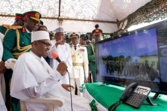 Buhari boosts morale of troops in video-conference on Armed Forces Remembrance Day