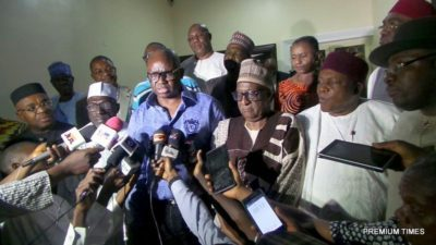 PDP Governors' Forum makes Fayose chairman