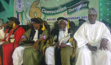 Recession: Shift attention to agriculture, Aregbesola charges Varsity graduates
