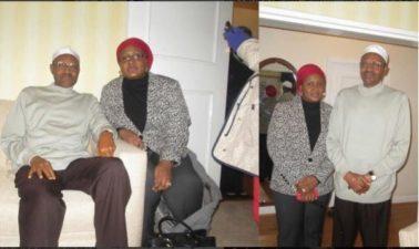 Breaking: First Lady Aisha Buhari visits husband in London