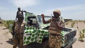 Breaking: Soldiers kill three female suicide bombers in Madagali