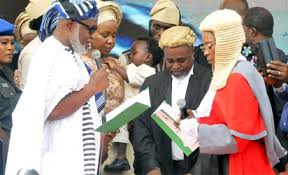 Celebrations as Rotimi Akeredolu sworn-in as Ondo State new Governor