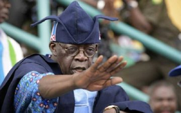 We sold APC to you, please hang on to it, endure more – Tinubu