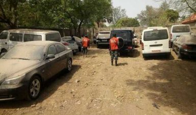 EFCC recovers 17 vehicles from ex-customs boss, Inde