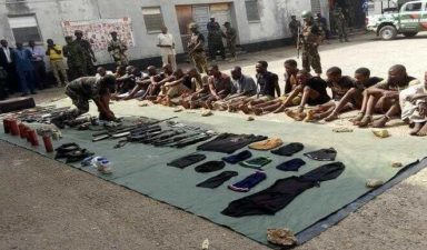 Army busts Boko Haram cell in Kogi, arrests 17 suspects