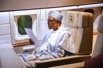 Senate reads Buhari's letter for extension of vacation