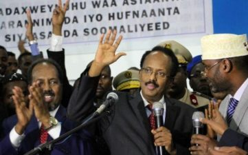 Somalis jubilate after electing anti-corruption activist as president