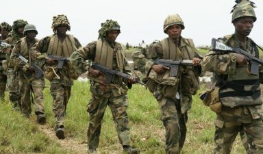 Clearance Operations: Troops make another plus, liberate 455 hostages in Kala-Balge , Borno