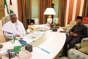 Buhari finally takes charge, resumes work Monday