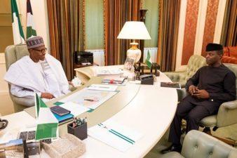 Buhari finally takes charge, resumes work Monday