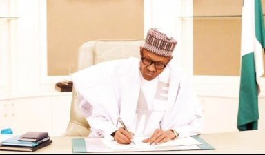 Buhari forwards list of 27 RECs to Senate for confirmation