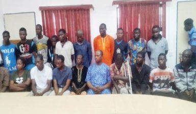 Police parade 20 over Ile-Ife violence