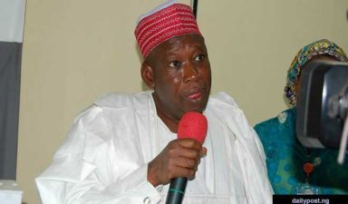 Ganduje launches 550-km road project