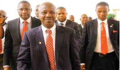 Magu spits fire after his second rejection by Saraki's Senate, says anti-corruption struggle is fight to finish