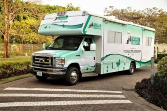 Aisha Buhari Commissions mobile clinic for medical outreach