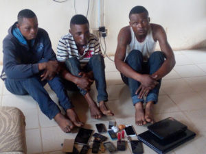 3 armed robbery suspects nabbed by Ogun Police