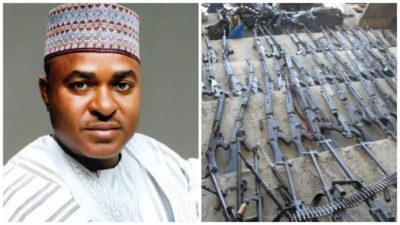 ICPC recovers 220 flats in 20 estates, 165 rounds of ammunition, dangerous weapons from Sanusi's house
