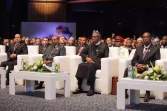 Presidents of Egypt, Gambia, Ghana in goodwill calls to President Buhari
