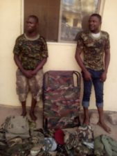 Ogun Security: Police arrests 2 fake soldiers