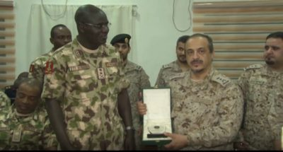 Islamic Counter Terrorism group interface with Nigerian military to end menace