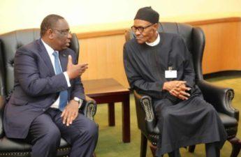 Senagalese Leader lauds Nigeria's President Buhari on The Gambia