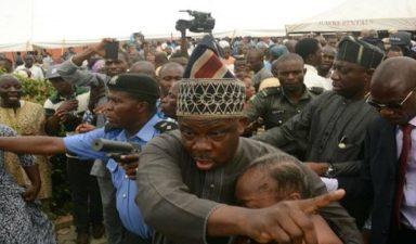 Senator Adeleke buried amidst tears