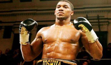 Nigerian born boxer Joshua, Klitschko in world title fight