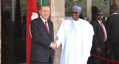 Buhari congratulates Turkey on successful referendum