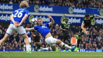 Everton 0 – 3 Chelsea in Sunday outing